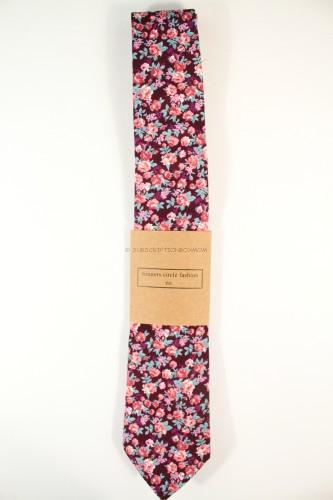 Winners Circle Fashion Co Vlaamaerd Floral Tie