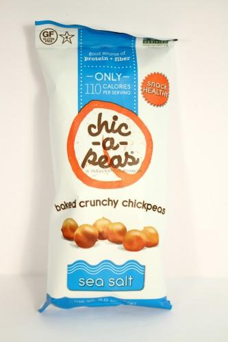 Chic- A - Peas Sea Salt Baked Crunchy Chickpeas