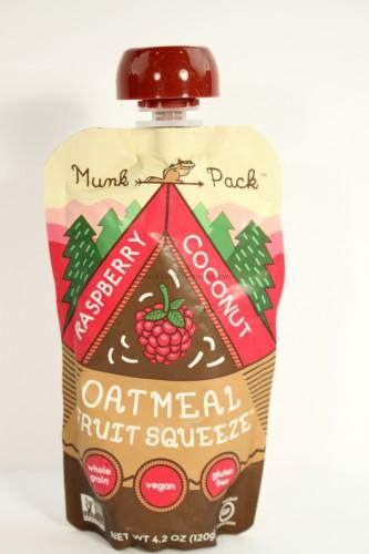 Munk Pack Raspberry Coconut Oatmeal Squeeze