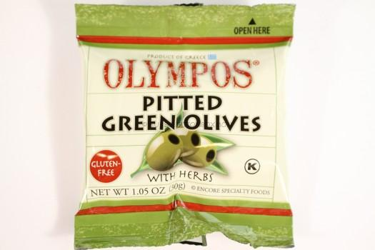 Olympos Pitted Green Olives