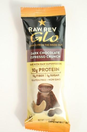 Raw Rev Glo Dark Chocolate Espresso Crunch