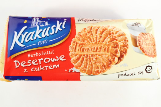 Krakuski Shortbread Sugar Coated Biscuit Cookies