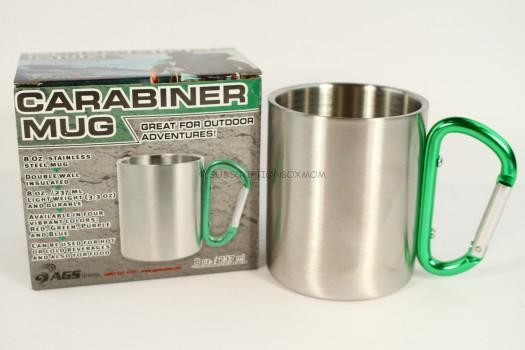 Outdoor RX Stainless Steel Carabiner Mug