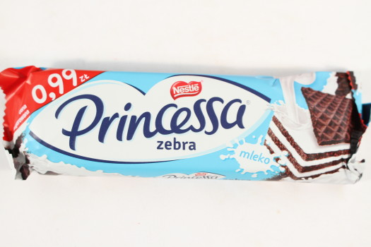 Nestle Princessa Zebra Wafer Bar