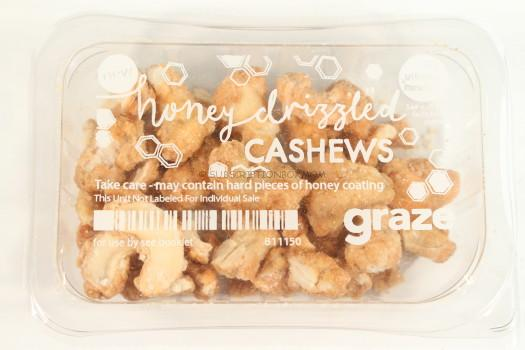 Honey Drizzled Cashews