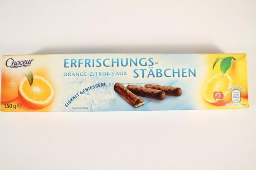 Choceur Erfrischungsstäbchen Orange-Zitrone Mix