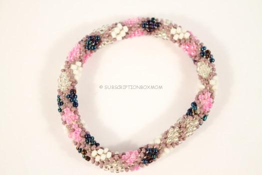 Roll On Beaded Bracelet