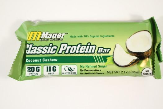 Mauer Coconut Cashew Classic Protein Bar