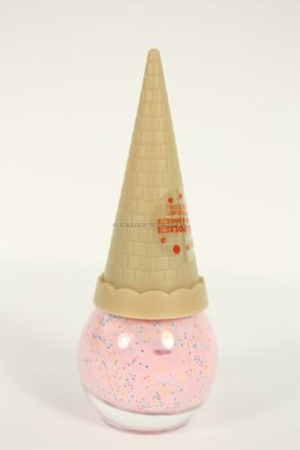 Expressions Girls Glittery Ice Cream Cone Nail Polish ~ Pink