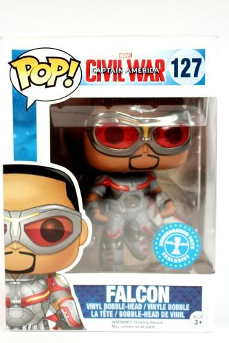 Funko POP! Pop Marvel Captain America Civil War Falcon Exclusive