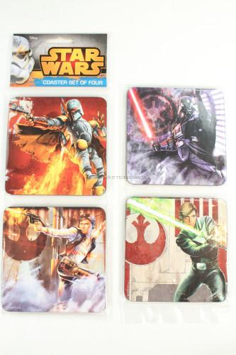 Star Wars 4 pc Wood Coaster Set