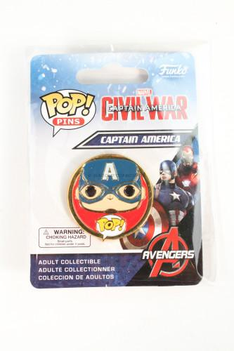 Captain America: Civil War Captain America Pop! Pin
