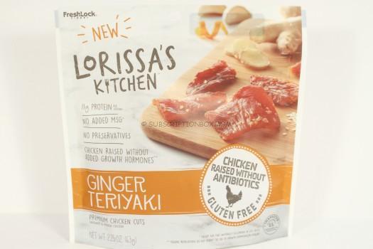 Lorissa's Kitchen Ginger Teriyaki