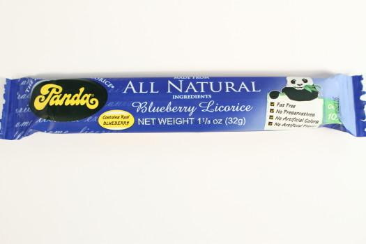 Panda All Natuaral Blueberry Licorice