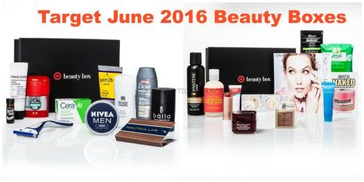 Target June 2016 Beauty Boxes Now Available