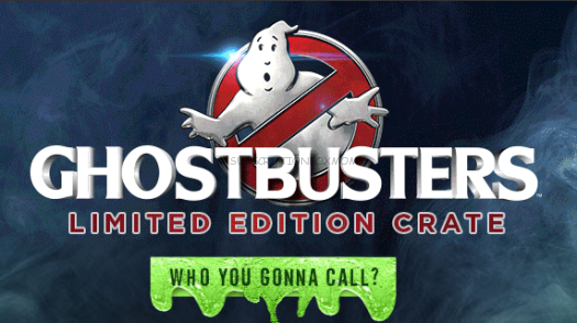 Loot Crate Ghostbusters Limited Edition Crate