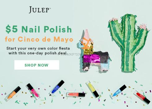 Julep $5 Polish for Cinco de Mayo