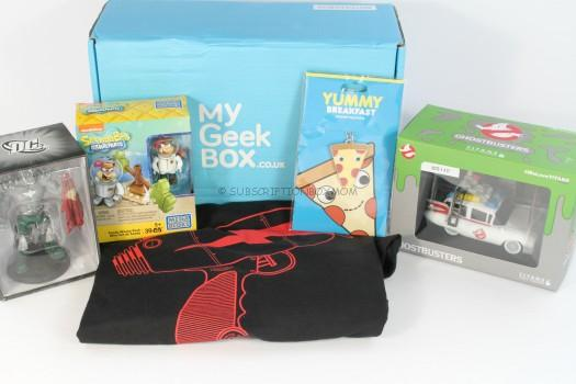 My Geek Box May 2016 Review