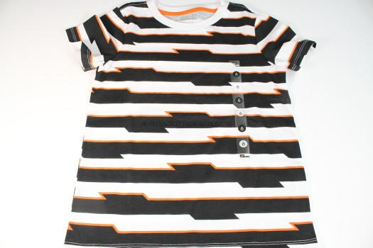 Epic Threads Black and Orange Striped Shirts