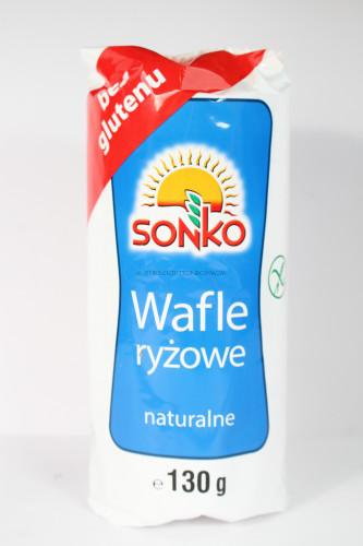 Sonko Rice Wafer Cakes Natural