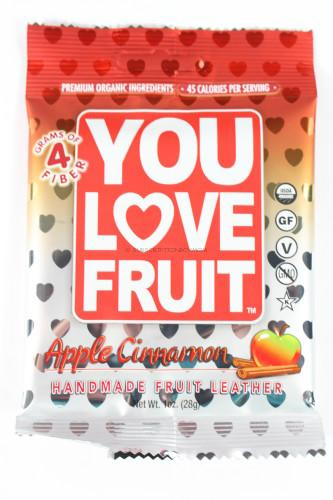 You Love Fruit Apple Cinnamon Fruit Leather