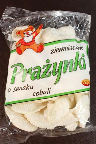 Prazynki Onion Potato Chips