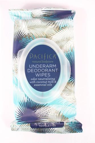 Pacifica Underarm Deodorant Wipes