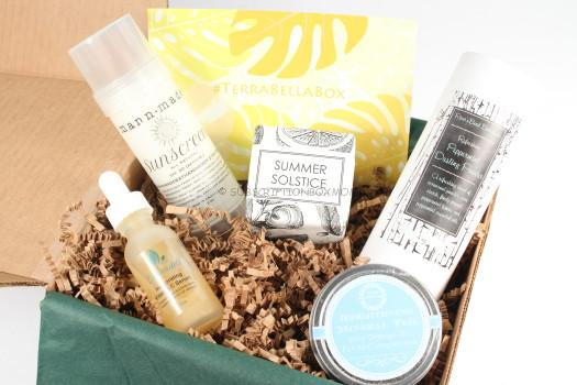 Terra Bella Box June 2016 Review