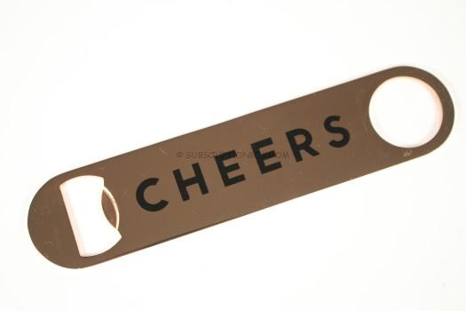 Sisters of Los Angeles Cheers Gold Bottle Opener