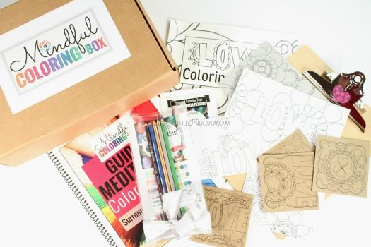 Mindful Coloring Box May 2016 Review