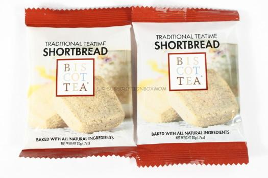 Biscottea Traditional Teatime Shortbread