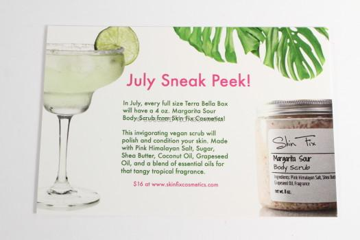 Margarita Sour Body Scrub from Skin Fix Cosmetics
