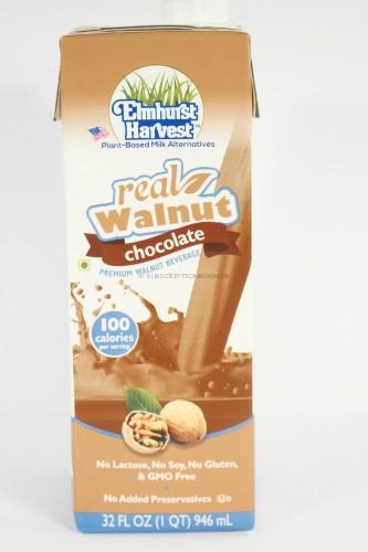 Elmhurst Harvest Real Walnut Chocolate Premium Walnut Beverage
