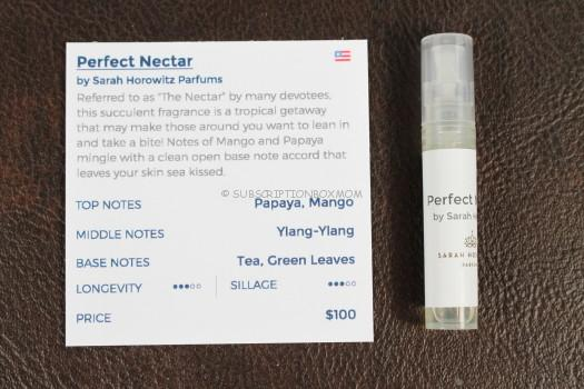 Perfect Nectar by Sarah Horowitz Perfums