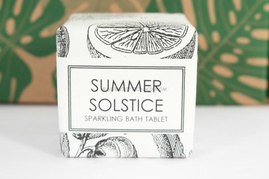 Formulary 55 Sparkling Bath Tablet in Summer Solstice