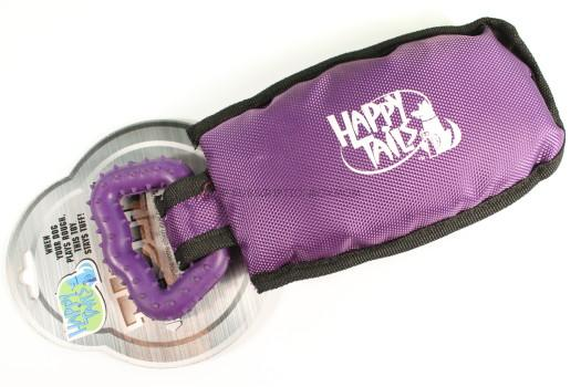 Happy Tails Tuff Toy, Purple Tug with Rubber