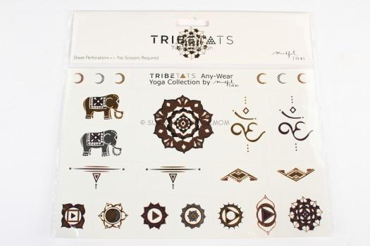 Tribe Tats Metallic Yoga Collection