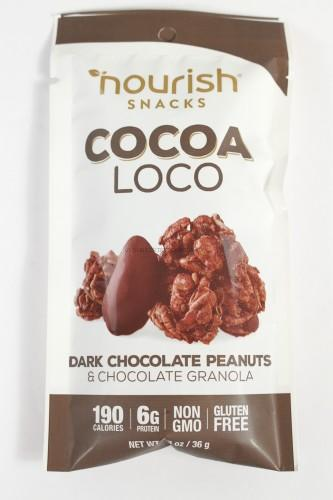 Nourish Snacks Cocoa Loco Dark Chocolate Peanuts