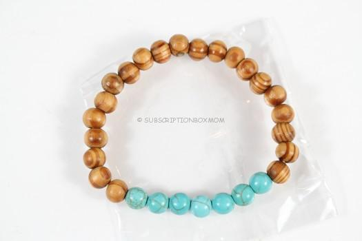 Bonus Item: Natural Stone Chakra Energy Bracelet