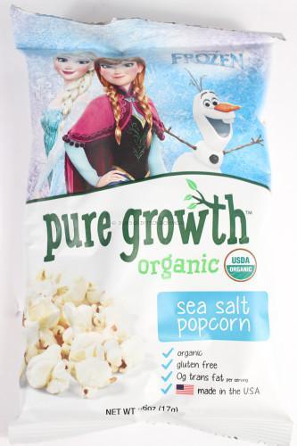 Pure Growth Organic Sea Salt Popcorn