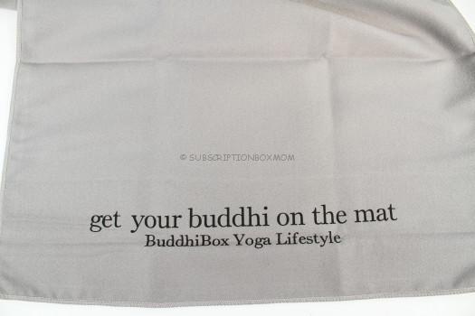 Buddhibox towel