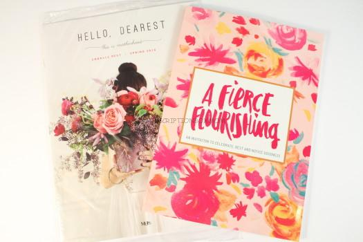 MOPS International A Fierce Flourishing Book and Hello Dearest Magazine