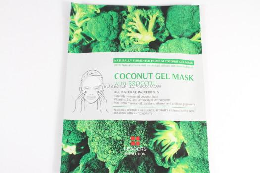 Leaders Cosmetics USA Coconut Gel Mask with Broccoli