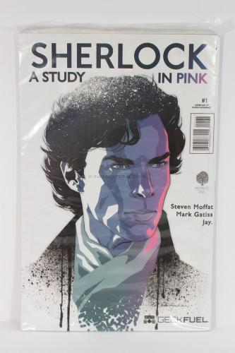 "Sherlock Manga ""A Study in Pink"" #1 Issue"