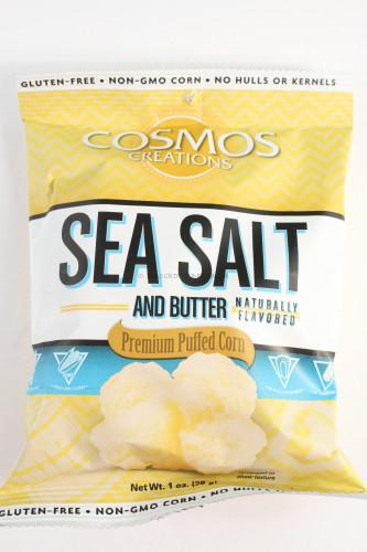 Cosmos Creations Sea Salt and Butter Premium Puffed Corn