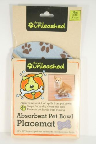Absorbent Pet Bowl Placemat
