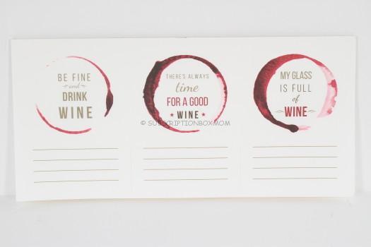 Wine Tasting Papers