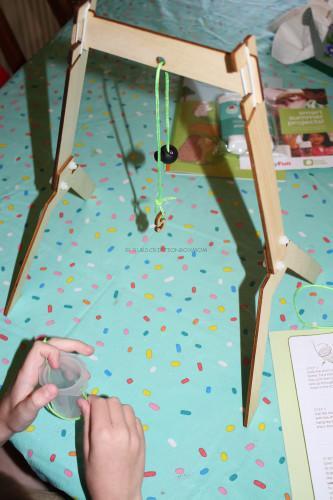The finished pendulum
