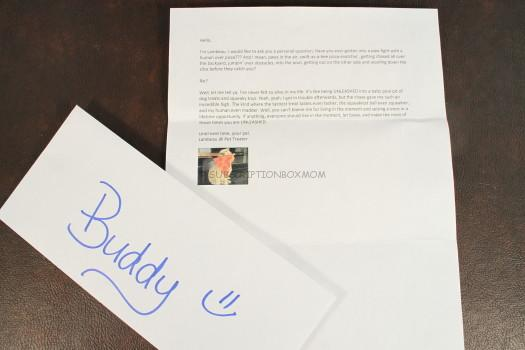 Buddy Letter