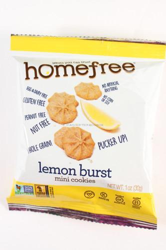 Homefree Lemon Burst Mini Cookies